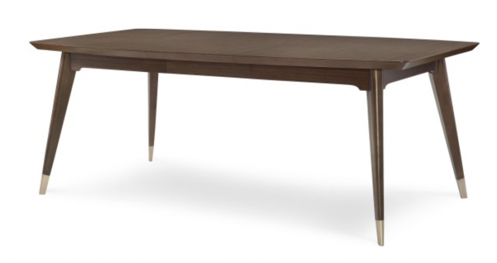 soho shaped leg dining table
