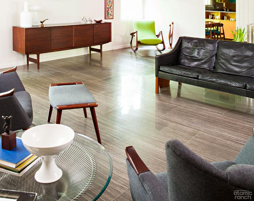 Flooring 101 Materials Galore For A Just Right Retro Floor