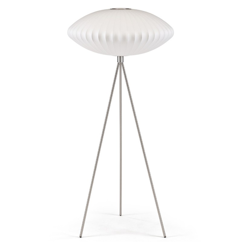 George Nelson equinox tripod floor lamp