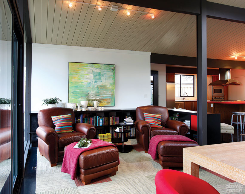 Portland Rummer living room
