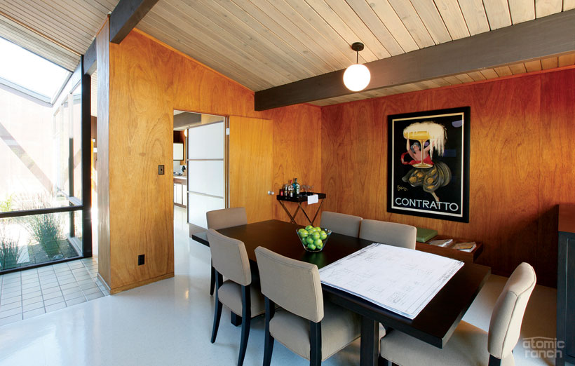 1965 Eichler dining room