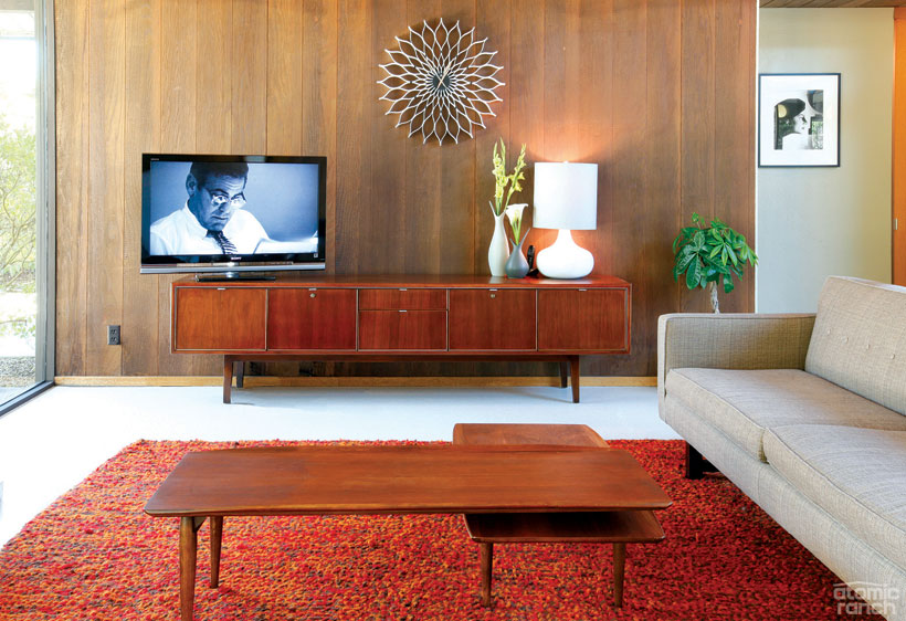 1965 Eichler living room