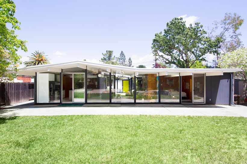 Walnut Creek Eichler exterior