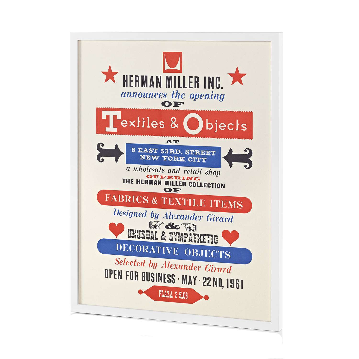 Textiles & Objects Poster by Alexander Girard