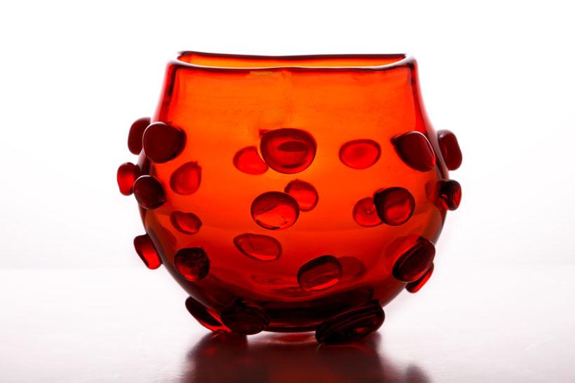 Blenko #597 tangerine