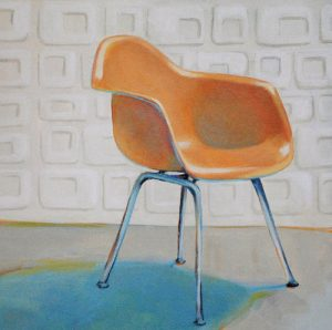 Eames Molded Plastic Armchair by Laura Browning