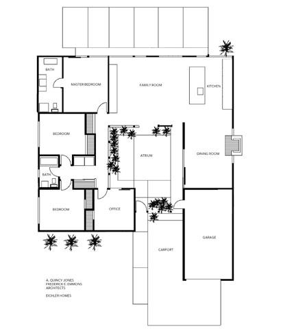 Eichler floor plan