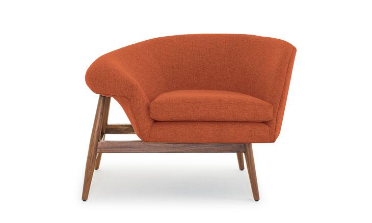 Louie chair in cordova picante