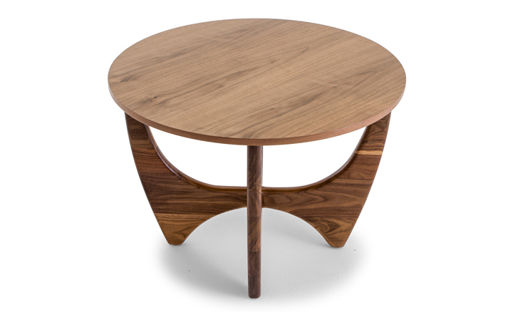 stern wood top end table by joybird
