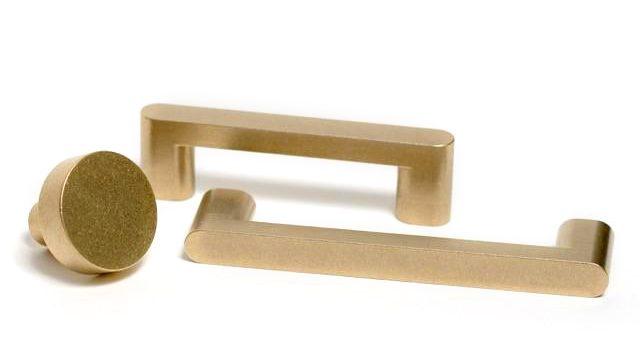 brass cabinet pull