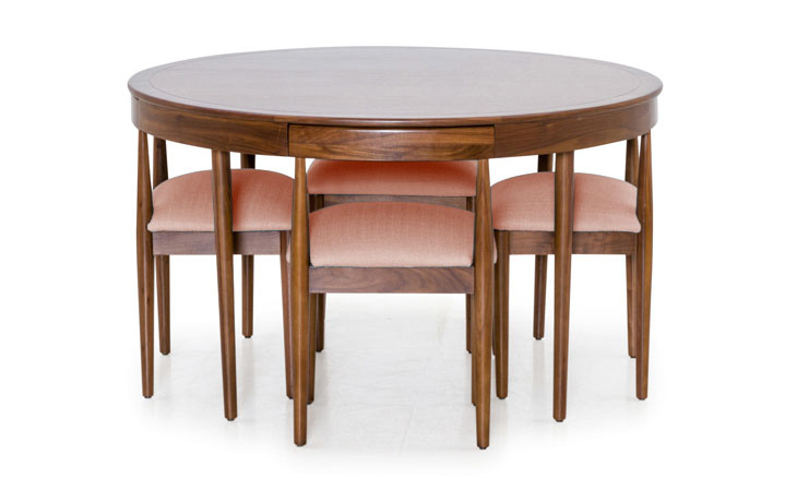 Toscano Dining Set in Blush
