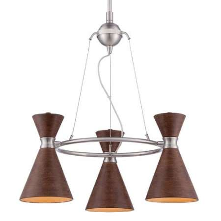 Conic 3 Light Chandelier