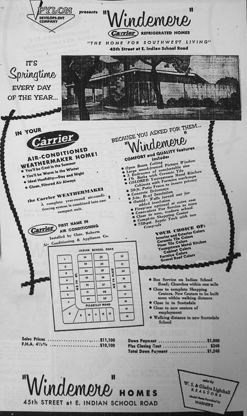 Windemere vintage advertisement