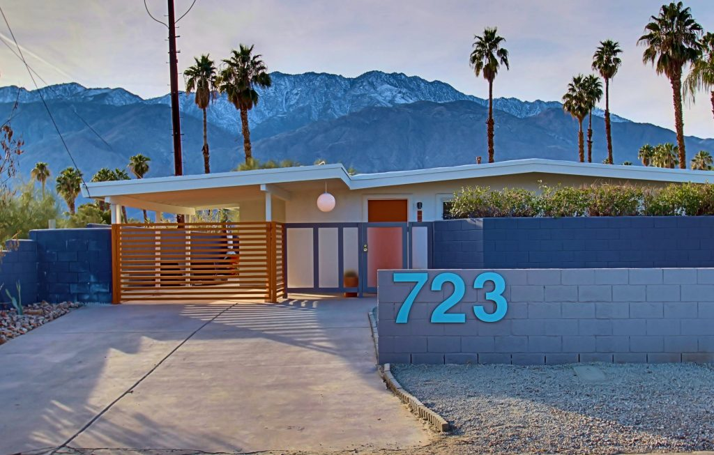 Palm Springs Midcentury Home After James Judge Renovation