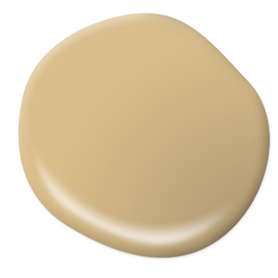 A honey-tea colored exterior paint color.