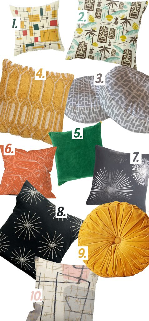 10 Pillows to Fulfill Your Obsession - Home