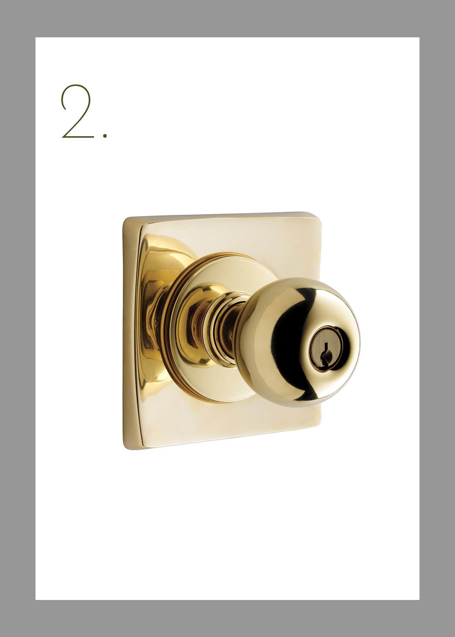 mid century modern door latch
