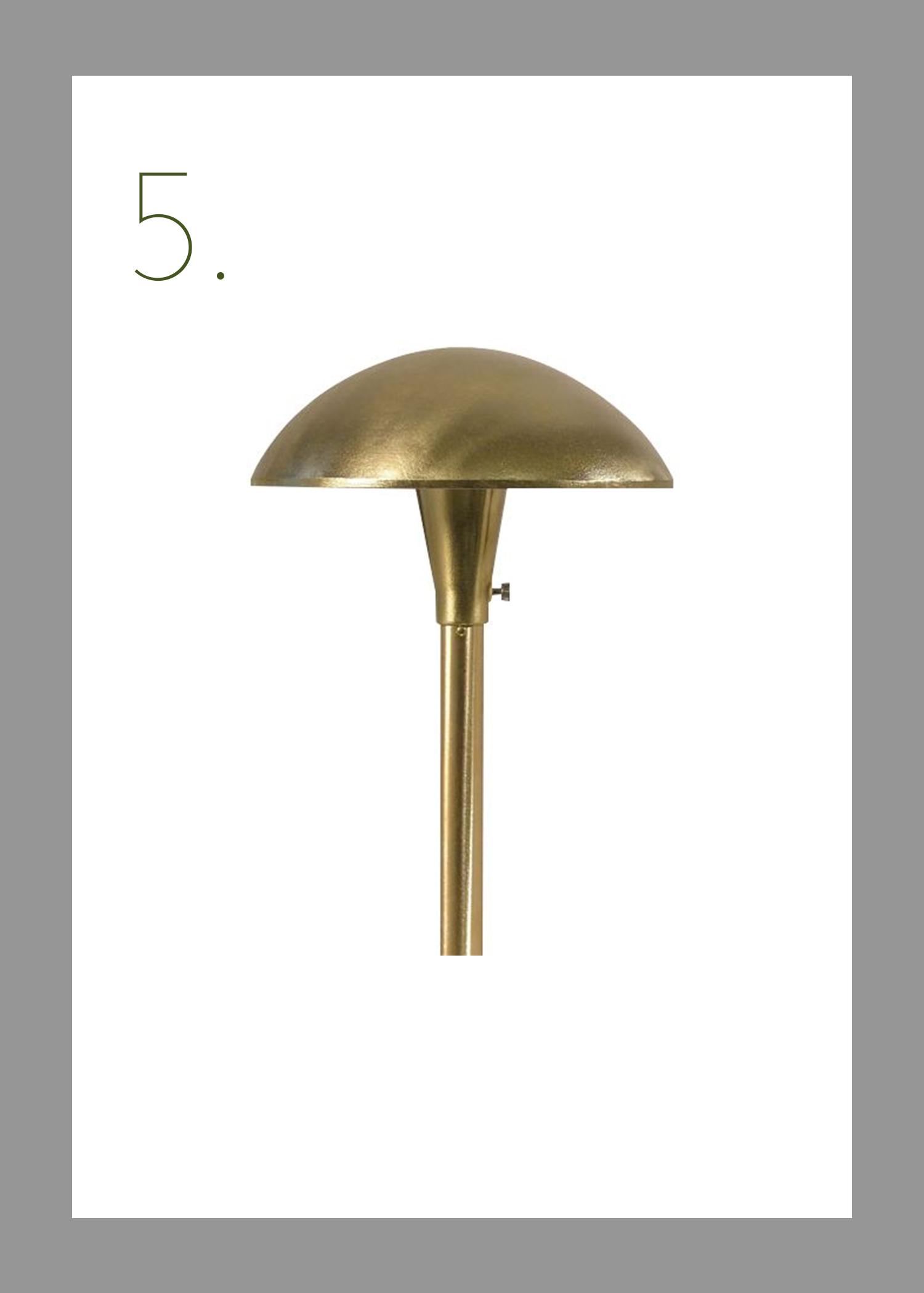 mushroom shaped MCM lamp