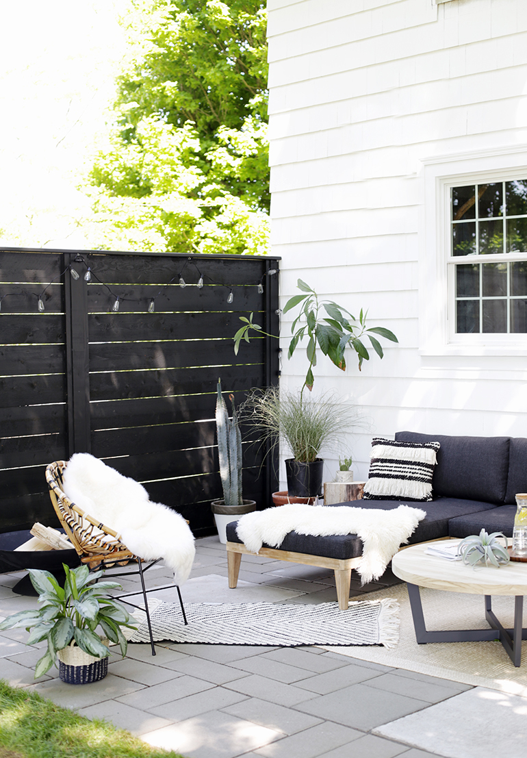 Patio Makeover with a Bold Mod Twist - Home on Backyard Patio Makeover id=66301