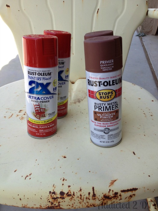 Rust and Spray Paint