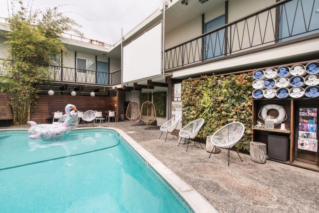 San Diego California Pearl Hotel Midcentury Modern