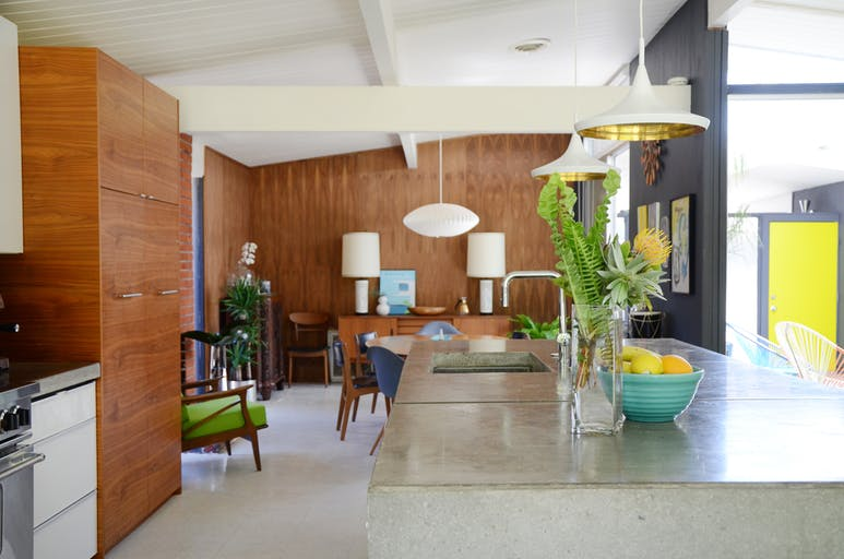 midcentury modern lighting sources home