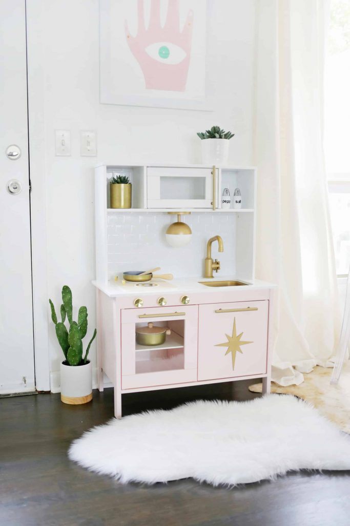 Weekend DIY Atomic Ranch IKEA kitchen A Beautiful Mess