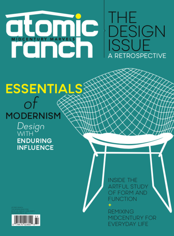 Design matters. Good design matters more. Hear from Brand Leader Sarah Jane Stone on the passion for mid century modern design that fuels Atomic Ranch's annual Design Issue.
