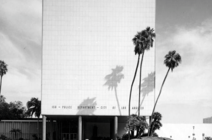 Parker Center Tower, a mid century modern office building in L.A. is due for demolition.