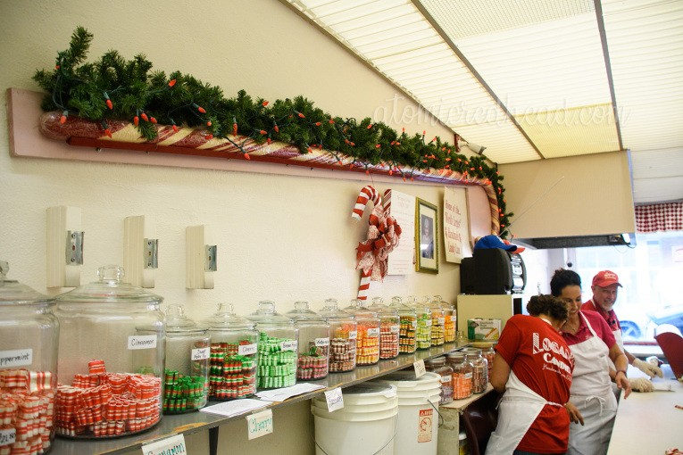 The holidays are filled with nostalgia—and what could be more reminiscent of childhood Christmas than a candy cane? Visit the candy shop that still makes the holiday treats by hand. Atomic Ranch, courtesy of Atomic Redhead