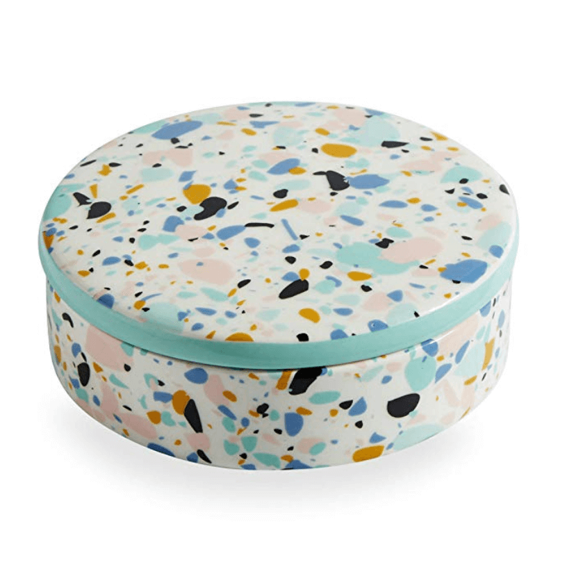 Get ready to beat those winter blues! Bold and fun, the new Jonathan Adler line on Amazon is full of fantastic mod finds. #jonathanadler #amazon #terrazzo #midcentury