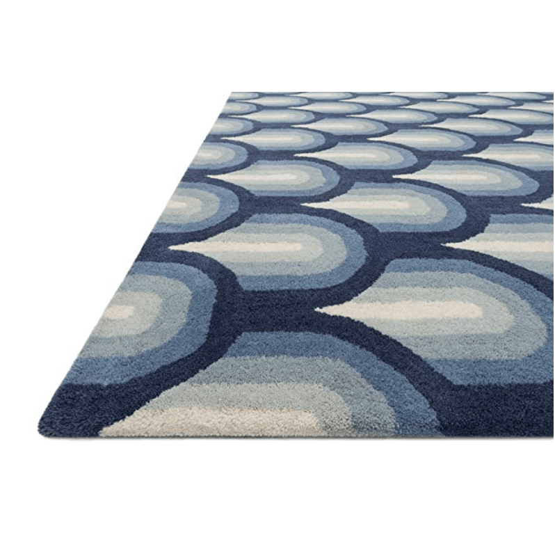 Get ready to beat those winter blues! Bold and fun, the new Jonathan Adler line on Amazon is full of fantastic mod finds. #jonathanadler #amazon #rug #midcentury