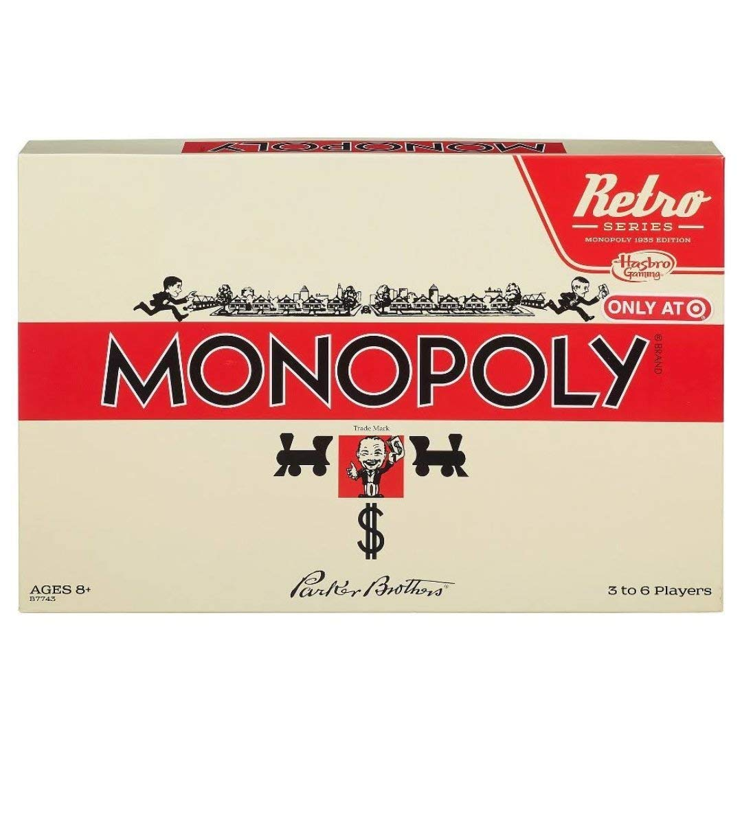 retro monopoly set