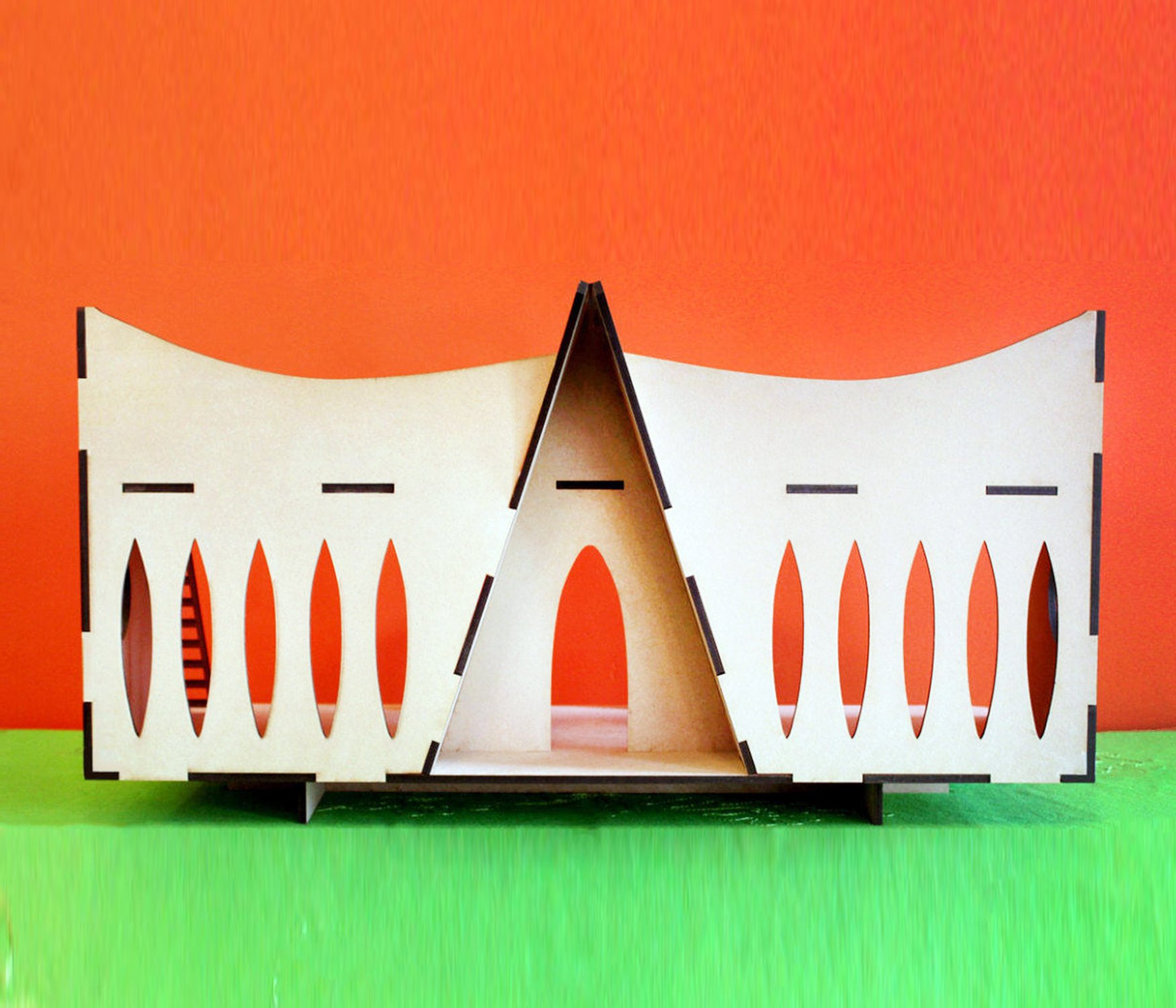 Mid Century Modern Dollhouse