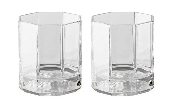 Rosenthal Versace Whiskey Glasses Medusa Lumiere designed by Gianni Versace