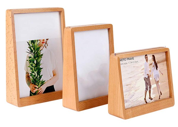 Nordmiex 6x8 Picture Frames Horizontally - Solid Wood Photo Frame