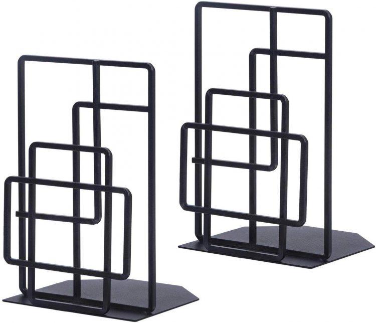 Window-lattice bookends.