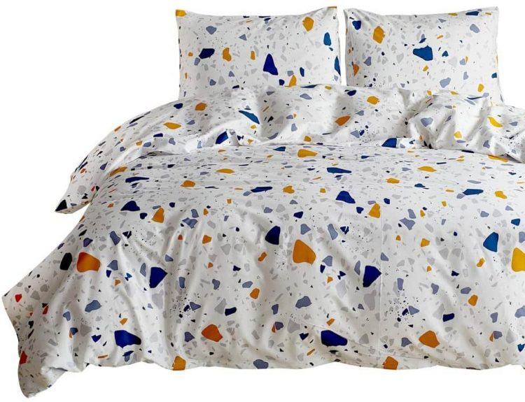Terrazzo bed sheets.