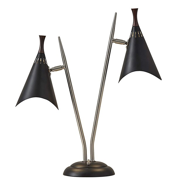 Adesso 3235-01 Draper 2-Light Desk Lamp
