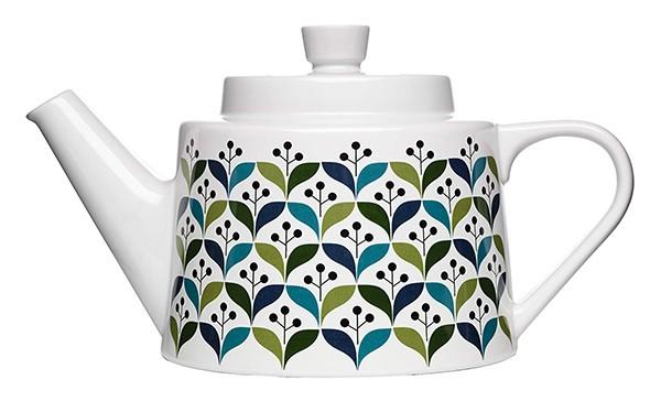 Sagaform #5015942 Stoneware Retro Tea Pot