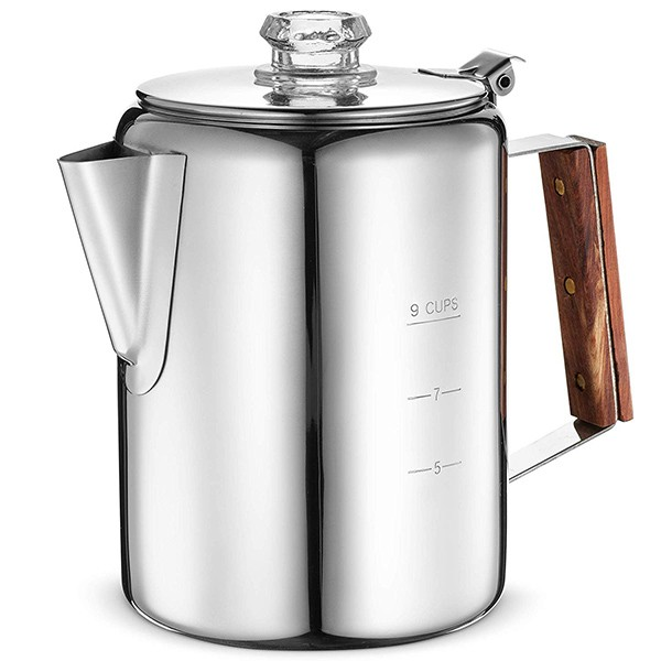 Eurolux Percolator Coffee Maker Pot