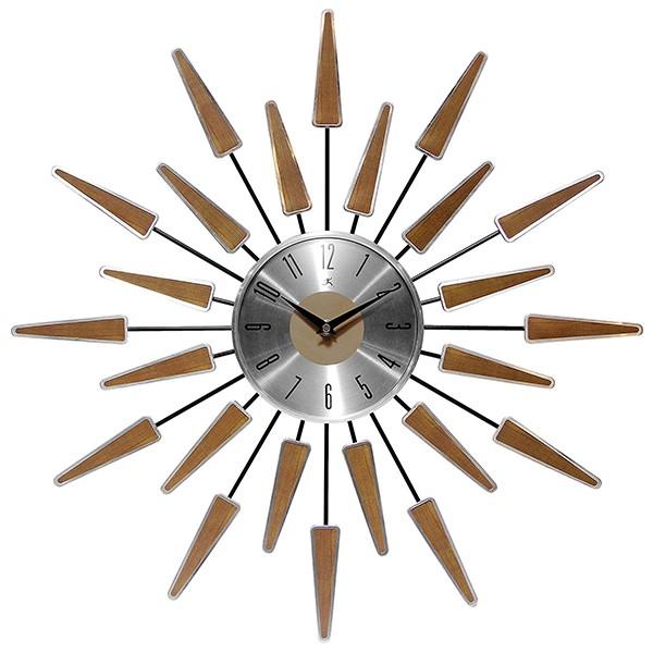 Infinity Instruments Satellite Clock, Walnut