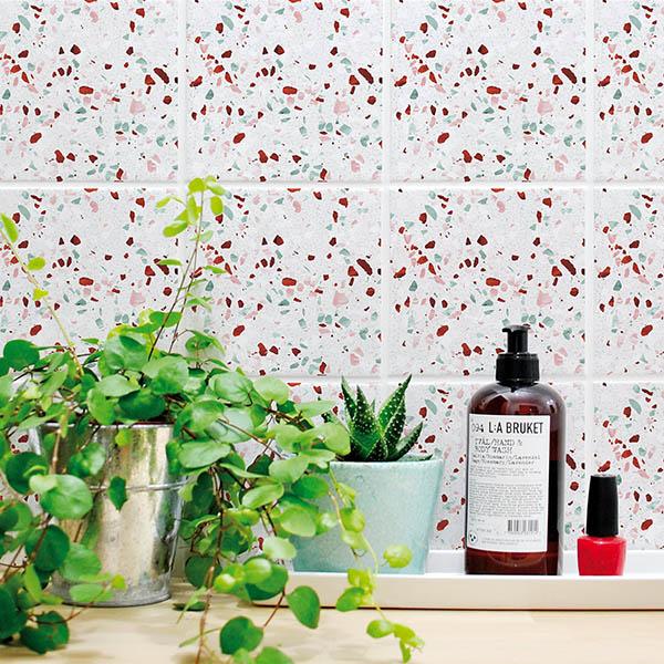 terrazzo tile sticker decals