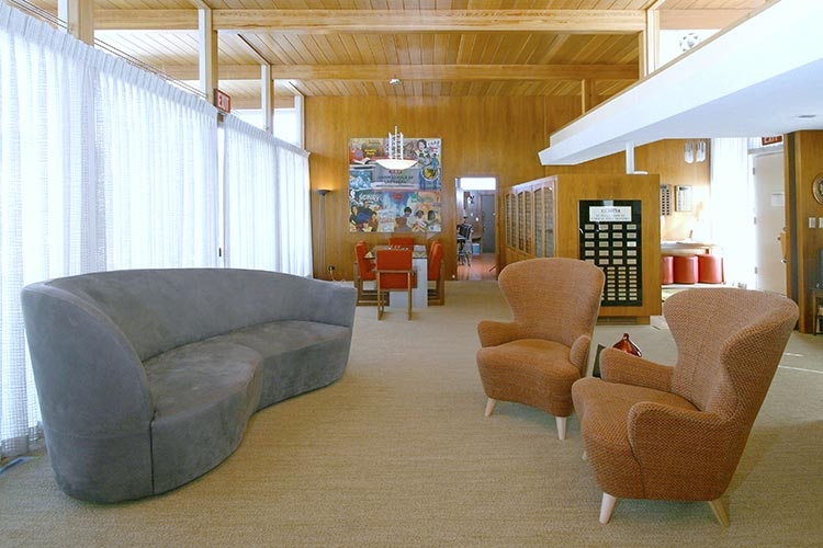 Las Vegas Modernist Morelli House Living Room