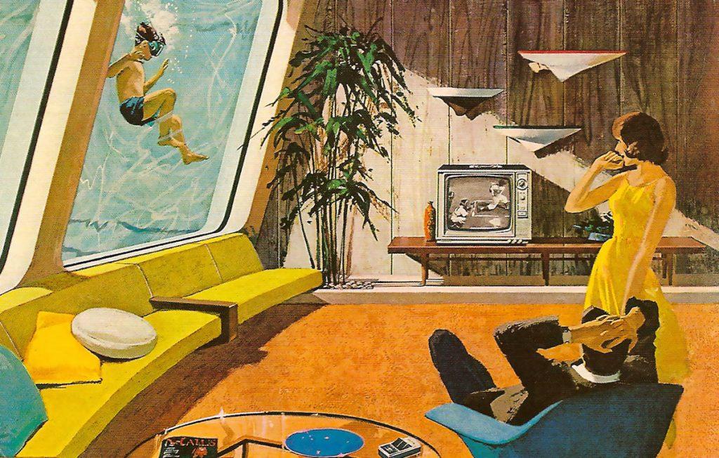 Mid Century Modern Motorola ad by Charles Schridde