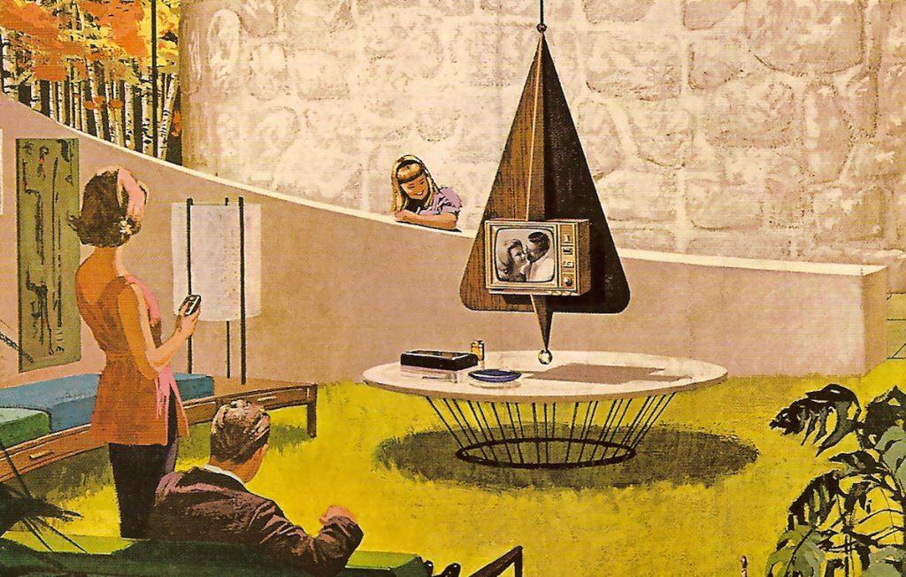 Charles Schridde Mid Century Modern Motorola Ad