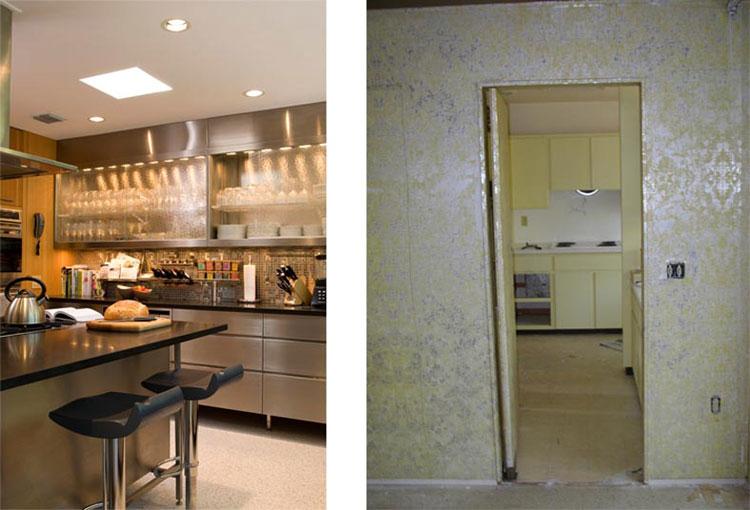 Mid Century Kitchen Renovation. Architect Tim Seibert