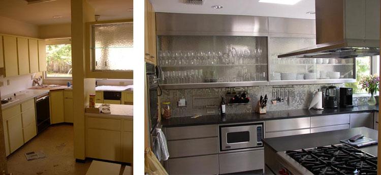 Mid Century Sarasota Kitchen Renovation. Architect Time Seibert.
