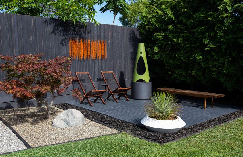 A Mid Century Modern Backyard Renovation Home