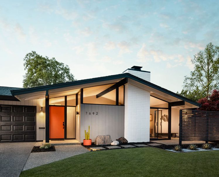 A Mid Century Modern Backyard Renovation - Home Ranch House Landscaping Diy Design on ranch house architecture, ranch house retaining wall, church landscaping designs, ranch house interior decorating, home landscaping designs, ranch house walkways, ranch house lighting, ranch house landscape, ranch house driveways, ranch house plans,